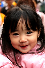 Cutie McSweetface (vyxle) Tags: baby cute girl japan asian japanese toddler little sweet young adorable narita fesitval taikomatsuri 100strangers stranger10
