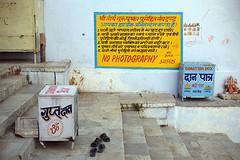 DSC_6637 Donation (Swiatoslaw Wojtkowiak) Tags: india money canon asia faith religion belief donation alm 5d pushkar hindu indien greed rajasthan ransom inde  materialism