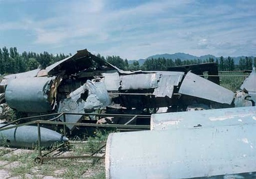 U-2 spy plane wreckage