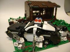 Shootout 2 (Battledog) Tags: crazy lego diorama gunfight maniac shootout moc vig