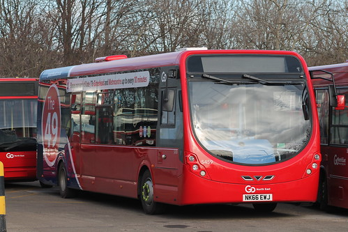 Go North East: 5459 NK66EWJ Wright StreetLite