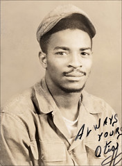 Always Yours, Otis (newmexico51) Tags: man newmexico smile shirt pose goatee route66 otis albuquerque tshirt cap africanamerican mustache nm homem hombre barba homme undated bigote