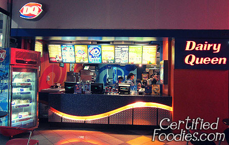 Dairy Queen's branch at Glorietta, just across the cinemas - CertifiedFoodies.com