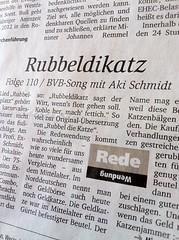 Rubbeldikatz (in den Ruhr Nachrichten)