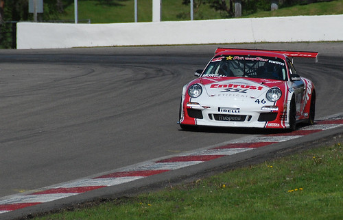 Ron Morgan, TruSpeed Porsche 911 exiting Mosport Turn #10 - #140/365 by PJMixer