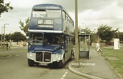 London comes to Hull. (Lady Wulfrun) Tags: road white bus london box telephone yorkshire transport 1988 cream east kingston preston motor boxes routemaster hull dye services lt stagecoach upon magicbus aldenham 714 643 aec lte eyms routemater