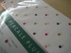 draps avec polka-dots!