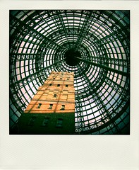 200404 (zTransmissions) Tags: city bw white black architecture central perspective australia melbourne below abigfave lpwindows