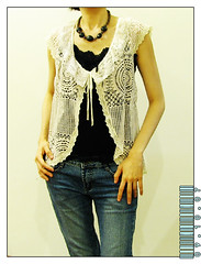 9 oct 07 (am-y) Tags: inspiration look fashion silhouette pose outfit clothing model beige ribbons pattern slim body embroidery top feminine femme bottom crochet young daily fresh dressing wear sharp muse clothes suit vogue trendy figure bottoms presentation form chic hip crocheted lacy fashionista graceful tops couture flair fit appearance styling apparel garments fad frilly togs fashionplate stylist snappydresser individuality femininity clotheshorse fashionparade urbanwear womensfashion personalstyle senseofstyle casualattire personalimage clotheswear