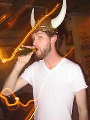 He looks like a Viking (Seeking Irony) Tags: viking hejhej
