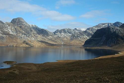 Fionn loch and Dubh Loch