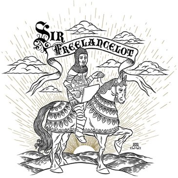 Sir Freelancelot tee from Chop Shop