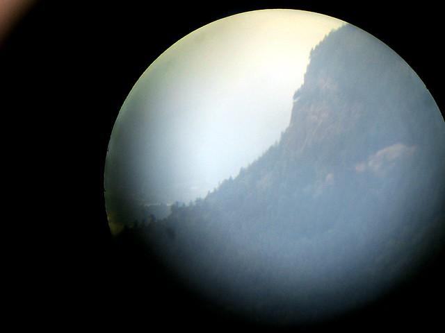 gorge cliff