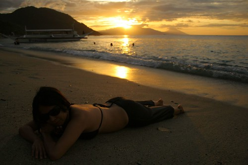 Enjoying the Puerto Galera Sunset 2