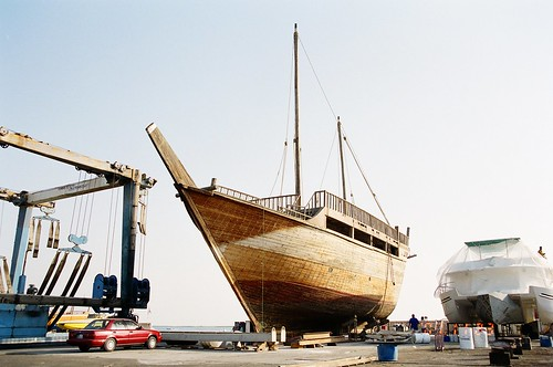 Dhow by vagabondblogger, on Flickr