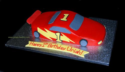 cars cake images. race car
