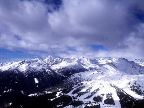 Panorama blue