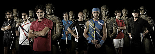 ATP Tennis Masters Cup and Terracotta Warrior Unveiling por ask curly.