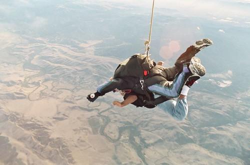 Tandem Skydive Hollister , CA