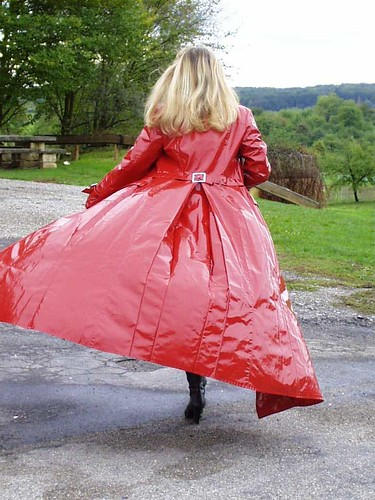 Lang lackmantel Dress Lack