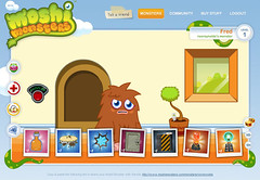Moshi Monsters - Fred's house, pre bling