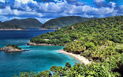 Trunck Bay - St. John - U.S. Virgin Islands (scaturchio) Tags: christmas cruise beautiful island bay nice ship group stjohn winner another thumbsup thumbs acg challenge topaz usvirginislands trunkbay mywinners anotherchallengegroup