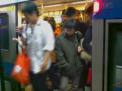 Taipei MRT。It's time to go home 6/6