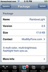 RainbowLight Update 2.5