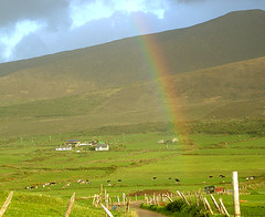 Rainbow near Cloghane (terryballard) Tags: beauty best irelands