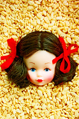 Rice Chrissie (boopsie.daisy) Tags: food silly cute face breakfast fun weird crazy doll head peekaboo cereal kitsch christine 101 multiple series peek peeking wacky lots ricekrispies kooky chrissie 10faves 4starfridgeandgourmetdinner 1on1colorful wowiekazowie 10december2007