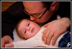 A Gentle Kiss 4 (fensterj) Tags: columbus baby infant father ella bryan l 5d childphotography 2470mm canon2470mm canonllens canon2470mmf28l fensterj fenstermacherphotography ellaandherdaddy ellabryan