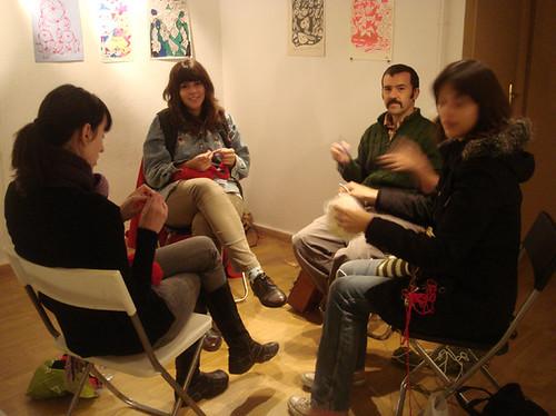 Crochet class at Duduá