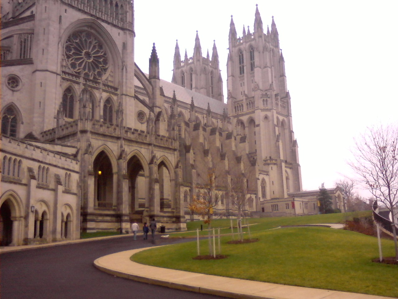 Washington National Cathedral in December