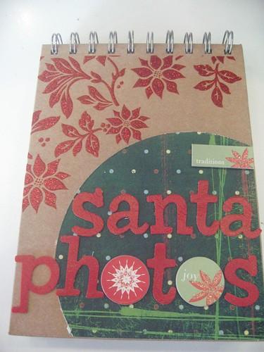 santa photo album