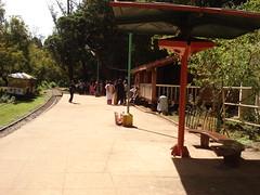 mini train platform, boat house, ooty , nilgiri