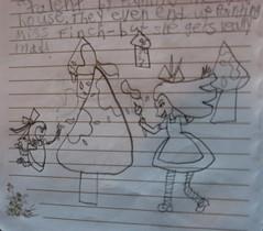 Sagas of Miss Finch 8 (rasputina2) Tags: childsart playacting childsdrama