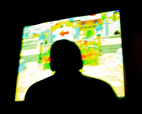 Video Games on the Big Screen by you.