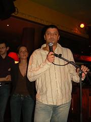 Ali Menzel et Quitterie Delmas