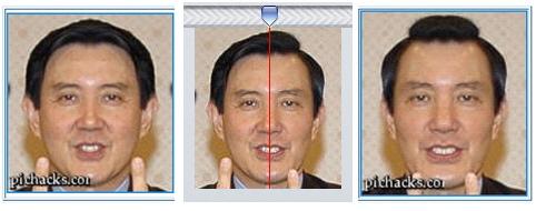 馬英九-左右臉不對稱