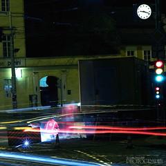 Noční Praha (pavel conka) Tags: night digital canon eos raw republic czech prague praha malostranska pavel 30d welder semafor noční hodiny soudeur schweißer nocni conka svarec