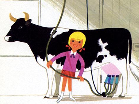 Alain Gree - L'Electricite  vintage kids book by Grain Edit.com.