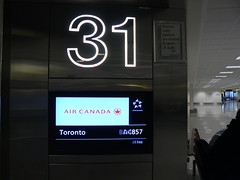 LHR 331 (Canadian Pacific) Tags: toronto london sign airport gate heathrow ac 31 bd lhr aircanada staralliance 857 4857 gate31 ac857 teminal3 bd4857