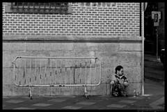 Loneliness I (>kindgott<) Tags: poverty madrid street portrait bw blackwhite calle loneliness retrato soledad pobreza blanconegro observedloneliness
