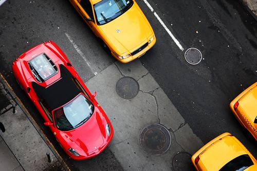 Ferrari cabs