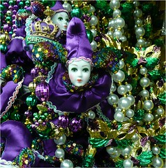 Mardi Gras (Lara's  Stuff) Tags: beads mardigras