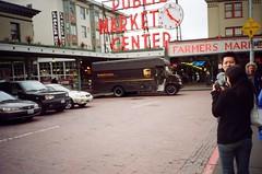 沖縄 in Seattle (Viv   Seattle Bon Vivant) Tags: seattle test film analog japanese downtown rangefinder tourists ishootfilm pikeplacemarket filmcamera analogphotography firstroll solaris nopostprocessing olympusxa ferrania okinawans ferraniasolaris200 vintagefilmcamera