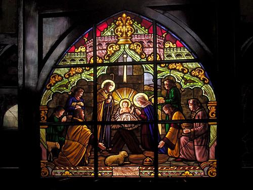 Vitral Igreja Nossa Senhora do Patrocínio Jaú