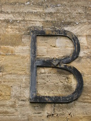 B is for Burford (muuranker) Tags: uk school b building stone iron oxfordshire churchlane burford grammarschool bgs goldenglobe burfordgrammarschool