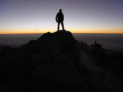 Sunrise on Pico de Teide