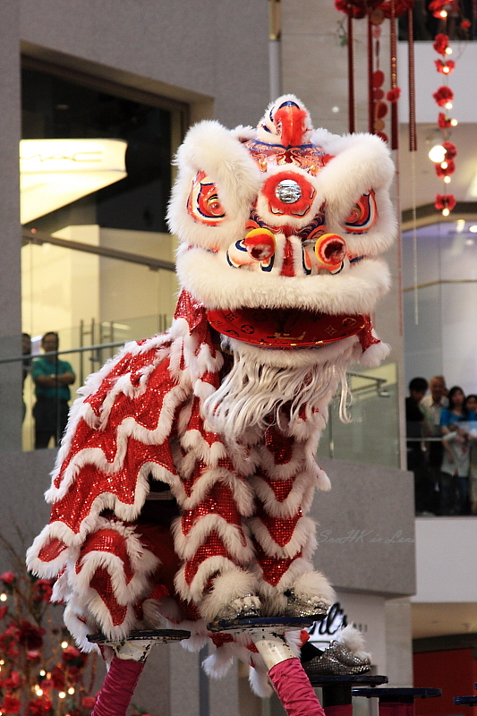 Stares, Lion Dance @ Pavilion KL